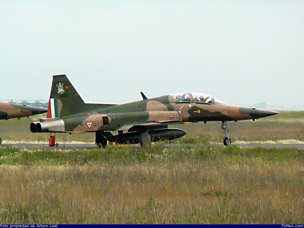 aeronave lugar fuerza aerea mexicana northrop f 5 tiger santa lucia ...